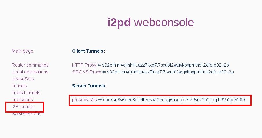 Decentralized instant messenger (XMPP aka Jabber) - i2pd